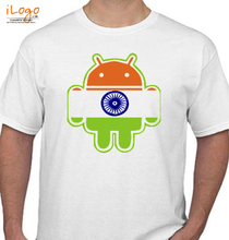 Rock Flagged-Android T-Shirt