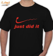 Funny Just-Did-It% T-Shirt