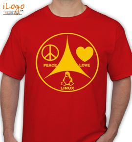 Linux Peace - T-Shirt
