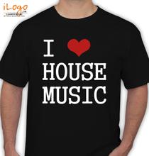 I-LOVE-HOUSE-MUSIC T-Shirt