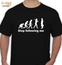 Retro STOP-FOLLOWING T-Shirt