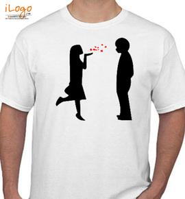 valentine lovE - T-Shirt