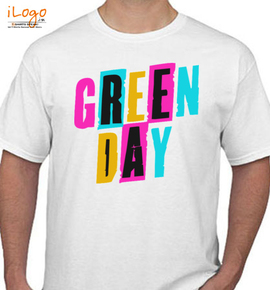 Green Day Flash Cards Girlie - T-Shirt