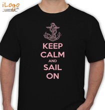 Sailing keep-calm-sail-on-sell T-Shirt