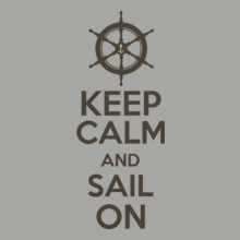 Sailing keep-calm-sail-on-well T-Shirt
