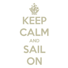Sailing keep-calm-sail-on-ship T-Shirt