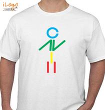 dancing-man- T-Shirt