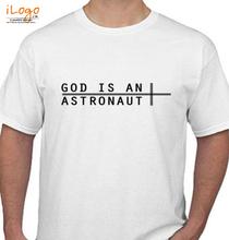 Rock God-is-an-Astronaut T-Shirt