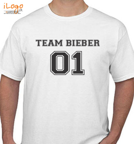 Justin Bieber Team Bieber Ladies T Shirt - T-Shirt