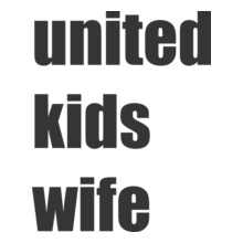ManchesterUnited-United-Kids-Wife-M--x-ee T-Shirt