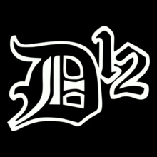 Eminem-D-logo-short-sleeve T-Shirt