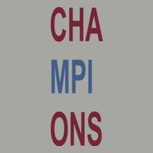 Football cha-mpi-ons T-Shirt