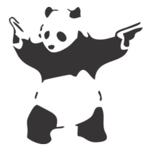 EDM Mafia-Panda-Adult T-Shirt