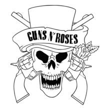 guns-roses-skull T-Shirt