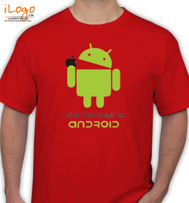 Android Apple II - T-Shirt