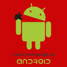 Funny Android-Apple-II T-Shirt