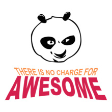 Rock Awesome-Panda T-Shirt