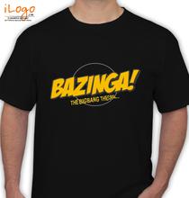 Rock Bazinga-Big-Bang T-Shirt