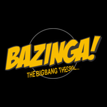 Rock Bazinga-Big-Bang T-Shirt