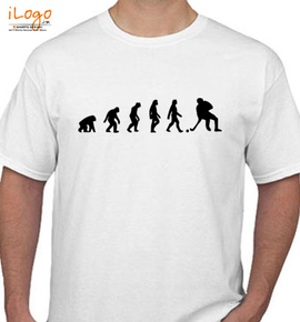 Hockey-Evolution - T-Shirt