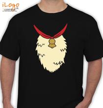 Christmas black-santa-tee T-Shirt