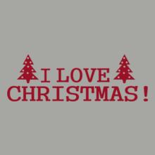 Christmas i-love-christmas-time-red T-Shirt
