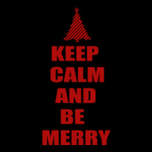 Keep-Calm-and-Be-Merry-Christmas T-Shirt