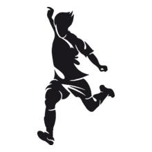 football-player-logo T-Shirt
