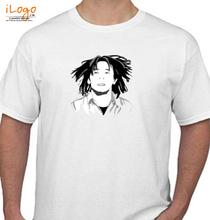 Bob Marley Bob-Marley-byyudhiecavalera T-Shirt