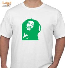 Bob Marley Bob-Marley-Band-Vinyl T-Shirt