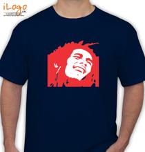 Bob Marley Bob-Marley-Circlism T-Shirt