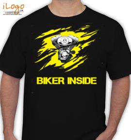 Biker-Inside - T-Shirt