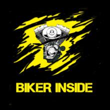 Biker-Inside T-Shirt