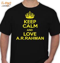 AR Rahman KEEP-CALM-A-R-RAHMAN T-Shirt