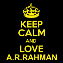 AR Rahman KEEP-CALM-A-R-RAHMAN T-Shirt