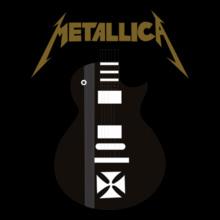 Metallica-Hetfield-Iron-Cross T-Shirt