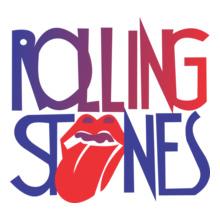 Rolling-Stones-Union-Jack-Girlie T-Shirt