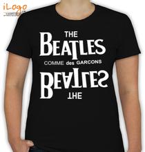 The Beatles COMME-des-GAR%CONS T-Shirt