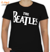 The Beatles Amplified-Ladies T-Shirt
