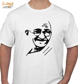 mahatma gandhi t shirt - T-Shirt