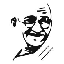 mahatma-gandhi-t-shirt T-Shirt