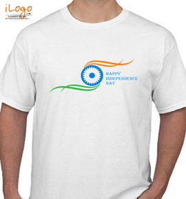 happy independence day - T-Shirt