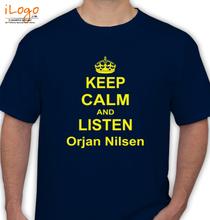 Orjan Nielsen orjan-nilsen-keep-calm T-Shirt