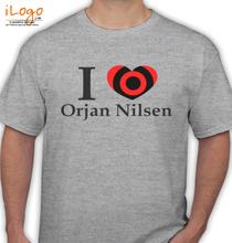 Orjan Nielsen love-orjan-nilsen T-Shirt