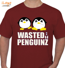 Wasted Penguinz wasted-penguinz-music T-Shirt
