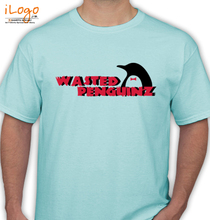 Wasted Penguinz wasted-penguinz-wallpaper T-Shirt