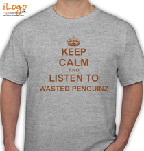 Wasted Penguinz wasted-penguinz-keep-calm T-Shirt