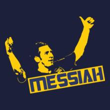 Brazil football World Cup barcelona-shirt-messiah-messi-ALT T-Shirt
