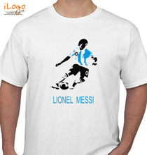 Brazil football World Cup Lionel-Messi-T-shirtSS T-Shirt