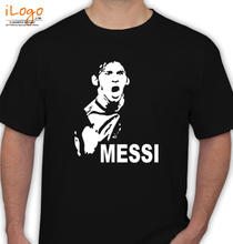Brazil football World Cup Messi-T-shirt T-Shirt